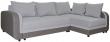 Угловой диван «Чарли 1» вар.2mL.6R: ткани 30261+897  18 группа