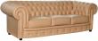 3-х местный диван «Честерфилд» (32) натуральная кожа 140 группа
