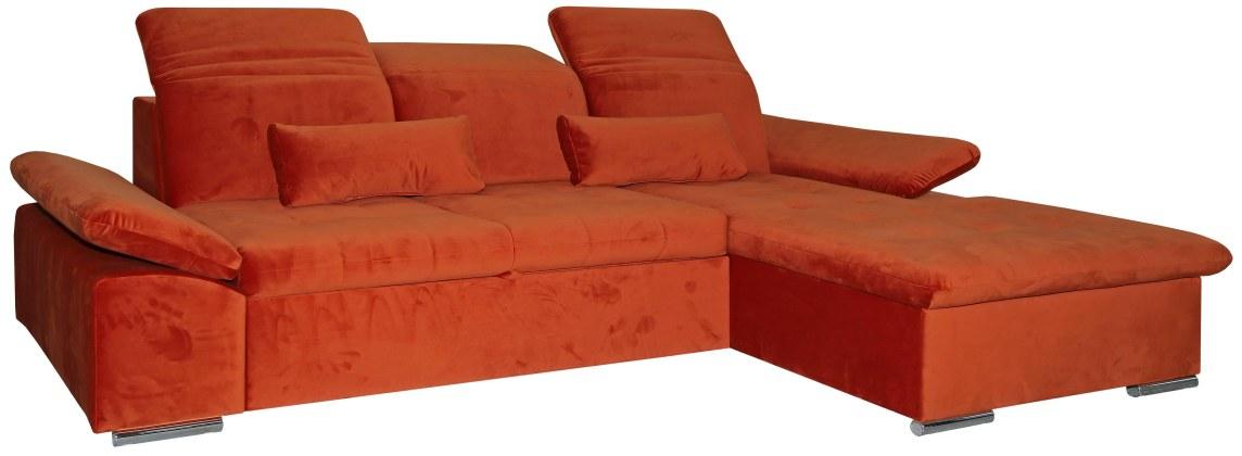 Угловой диван «Вестерн» вар 2mL.8mR: ткани 30161_20 группа