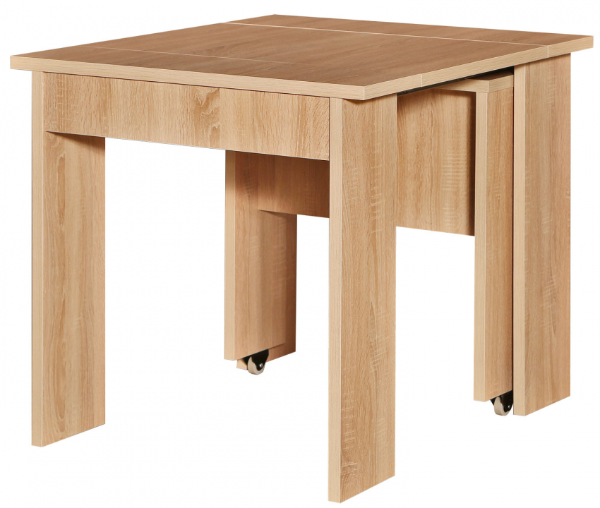 Стол раздвижной «Магнус 1» П517.01, Цвет: Дуб Сонома