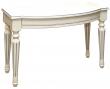 Стол «Валенсия» П254.81, Цвет: Античная темпера с серебром