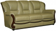 33-х местный диван «Изабель 2» (3м) натуральная кожа 120 группа