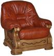 Кресло «Консул 21» (12), Материал: натуральная кожа, Группа ткани: 120 группа
