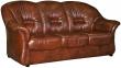 3-х местный диван «Омега» (3м) натуральная кожа 120 группа