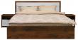 Кровать двойная «Монако» П528.05, Цвет: Дуб Саттер+Белый глянец (krovat_monako_p528_05_25af007d505428.jpg)