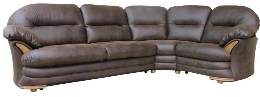 Угловой диван «Йорк» вар.3мL.901R: ткань 171_24 группа