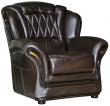 Кресло «Бакарди» (12), Материал: натуральная кожа, Группа ткани: 140 группа