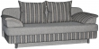 Тахта «Рубин 1» 3M, ткани: 20 группа