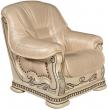 Кресло «Консул 23» (12), Материал: натуральная кожа, Группа ткани: 140 группа