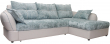 Угловой диван «Лоренцо» вар. 3mL.6mR: ткани: 851+876_26 группа