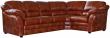 Угловой диван «Сенатор» вар. 3mL.90.1R: кожа натур+искуссвтв._1060-4060_115  группа