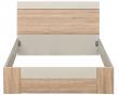 Кровать «Комфорт» П400.02-3, Материал: ДСП ламинированная, Цвет: Дуб Сонома+серый (krovat_komfort_p400_02-3_2.jpg)
