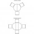 Стол «Верди 12А» П318.07, Цвет: Дуб рустикаль с патинированием
