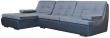 Угловой диван «Малибу» состав модулей 30m+8m+03+03: ткани 30111+881_19 группа
