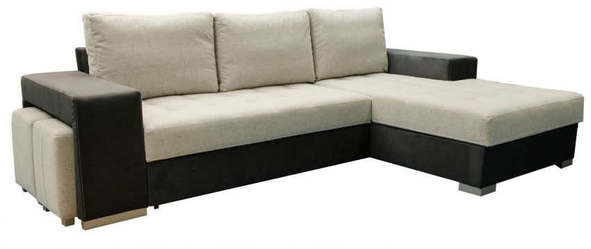 Угловой диван «Наоми» (2мL/R6мR/L), Материал: ткань, Группа ткани: 18 группа