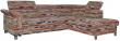 Угловой диван «Клео»  вар.2mL.5mR:  ткань:30010_26 группа