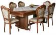 Стол «Гранд 1» П332.01, Цвет: Черешня с золочением