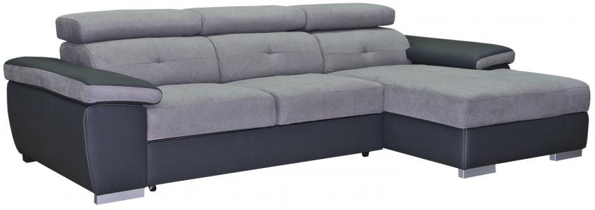 Угловой диван «Atlantis (Атлантис)» вар 2mL.6R: ткани 19 группа