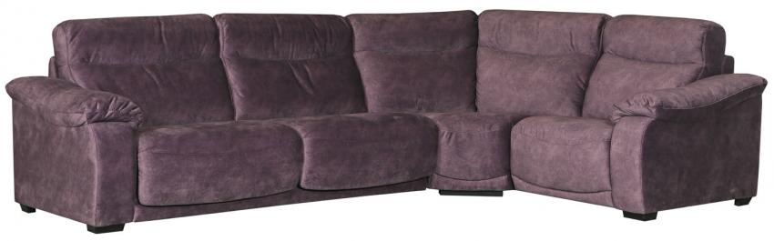 Угловой диван «Исландия»  вар 3mL.90.1R: ткань  21 группа