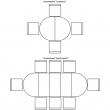 Стол «Милана 14» П323.02, Цвет: Черешня