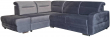 Угловой диван «Фреш» вар.2mR.5mL: ткань 30111_19 группа