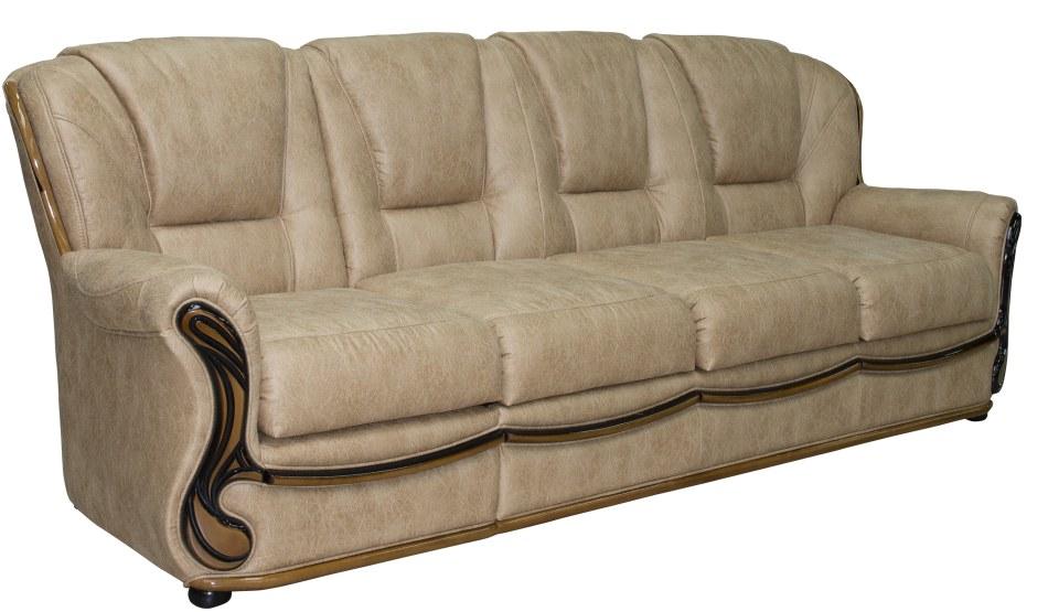 4-х местный диван Изабель 2 вар 3mR.1L, ткань 501 22 гр