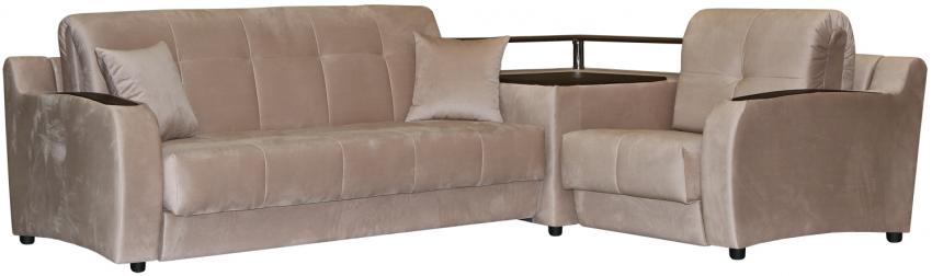 Угловой диван «Орегон» (3мL/R901R/L), Материал: ткань, Группа ткани: 19 группа