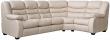 Угловой диван «Манчестер 1» вар 3mL.90.1R: кожа нат+искуст 1079-4079 115 группа