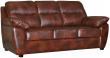 3-х местный диван «Плаза» (3м) комбинированный(кожзам+натуральная кожа) 115 группа