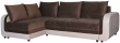 Угловой диван «Чарли 1» вар.2mR.6L: ткани 31137+133 18 группа