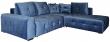 Угловой диван «Кубус» вар. 2mL.90.4aR,  ткани19 группа