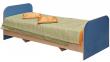 Кровать одинарная «Милый Беби» П206.07-1, Материал: ДСП ламинированная (krovat_odinarn_milyi_baby_p206_07-1_siniy.jpg)