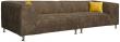 Угловой диван «Вики» вар.25L+25R:  ткань 493