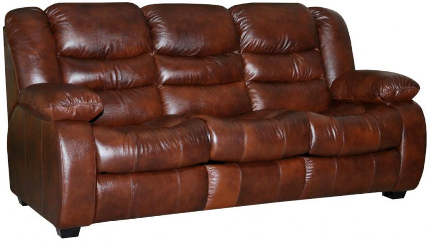 3-х местный диван «Манчестер 1» 3м: кожа комбинир.115 группа