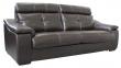 3-х местный диван «Барселона»3м: натуральная кожа 2324 _ 140 группа