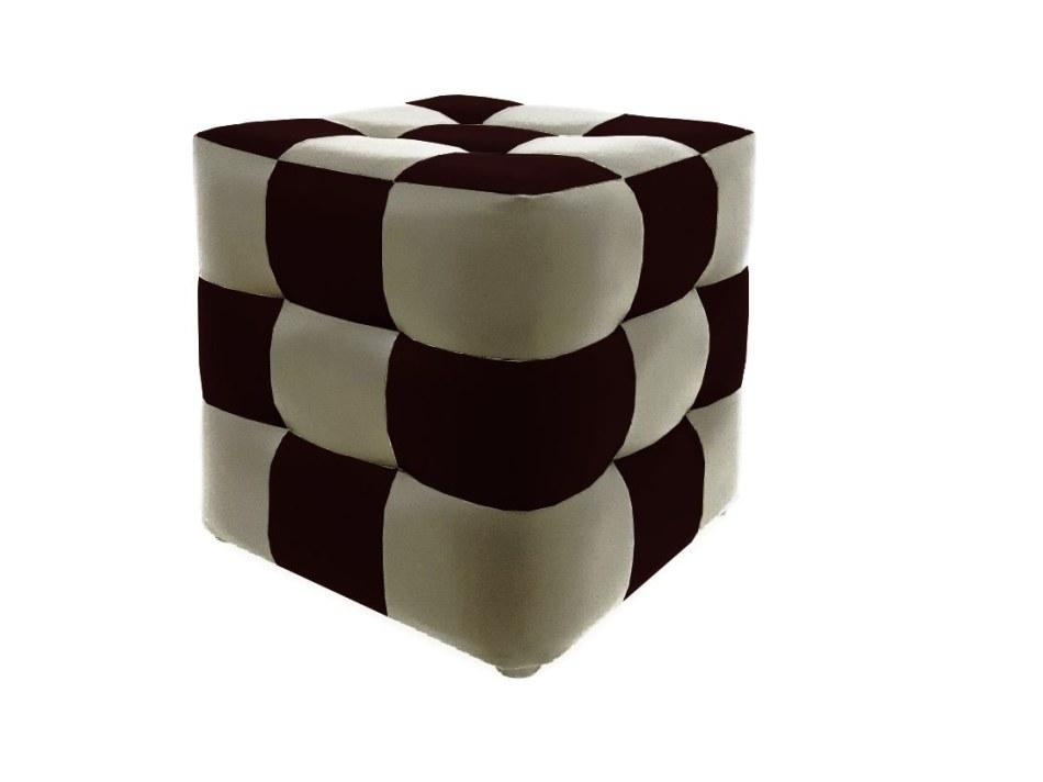 Банкетка Рубик 9 : кожзам, ткань