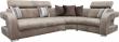 Угловой диван «Минор» вар. 3mL.90.1R:  ткани: 570+570+568+598 группа