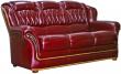 3-х местный диван «Бакарди» 3М кожа нат  3236_150 группа