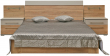 Кровать «Комфорт» П400.02-4, Материал: ДСП ламинированная, Цвет: Дуб Сонома+серый (krovat_komfort_p400_02-4_2.jpg)