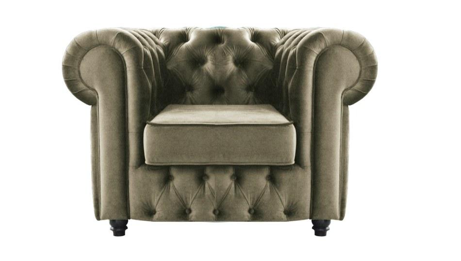 Кресло Честерфилд обивка_B10