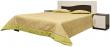 Кровать «Магдалена 216» П412.51, Материал: ДСП ламинированная, Цвет: Белый+венге (krovat_magdalena_216_p412_51_2.jpg)