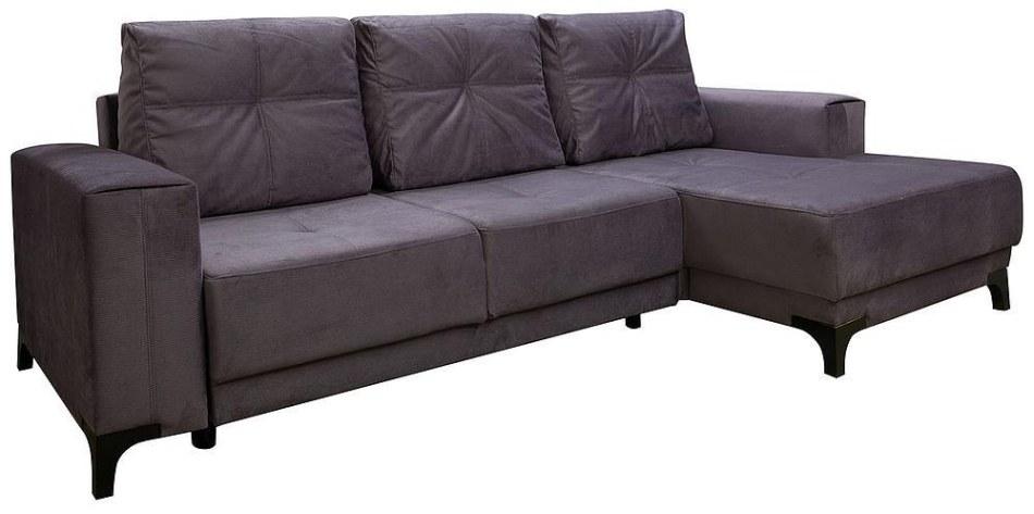 Угловой диван «Нельсон» вар 2mL.6R, ткань 31049_18 группа