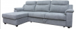 Угловой диван «Люксор»  вар. 3мR.8мL: ткань83+kant82_19 группа