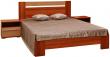 Кровать «Капучино» П416.02-4, Материал: ДСП ламинированная, Цвет: Слива Валлис+капучино глянец (krovat_kapuchino_p416_02-4-1.jpg)