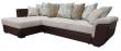 Угловой диван «Мальта 1» вар. 3mR.6mL:  ткани:220+159+30040+30062+105_21 группа