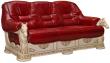 3-х местный диван «Фаворит» (3м), Материал: натуральная кожа, Группа ткани: 150 группа