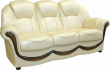 3-х местный диван «Дельта» 3м натуральная кожа 2020_140 группа