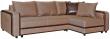 Угловой диван «Чарли» вар.2mL.6R: ткани 729+102 18 группа