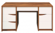 Стол письменный «Монако» П510.14, Цвет: Дуб Саттер+Белый глянец