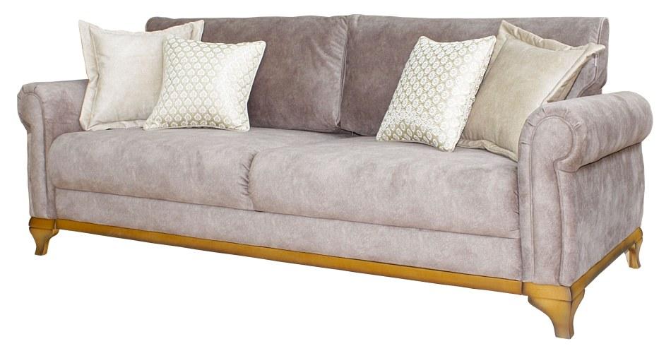 3-х местный диван «Фландрия» 3М:  ткани 557+556+30013(0)_21 группа